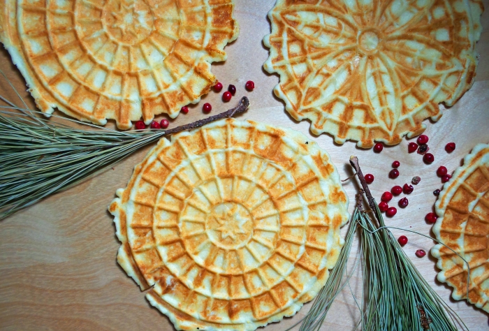 Pizzelles: A Holiday Tradition