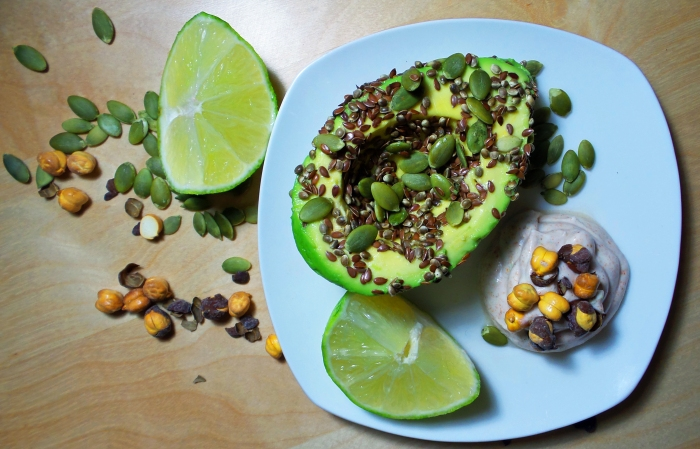 Seeded Avocado